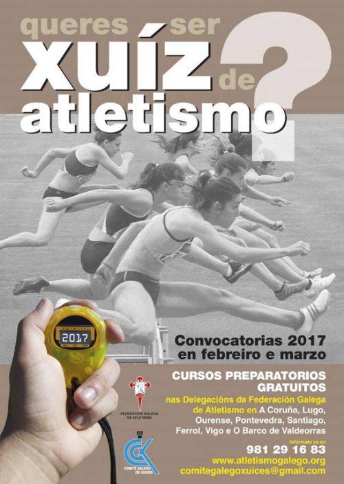 Convocatoria Xuiz Atletismo 2017
