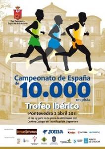 Cpto. de España de 10.000 - Pontevedra 2011