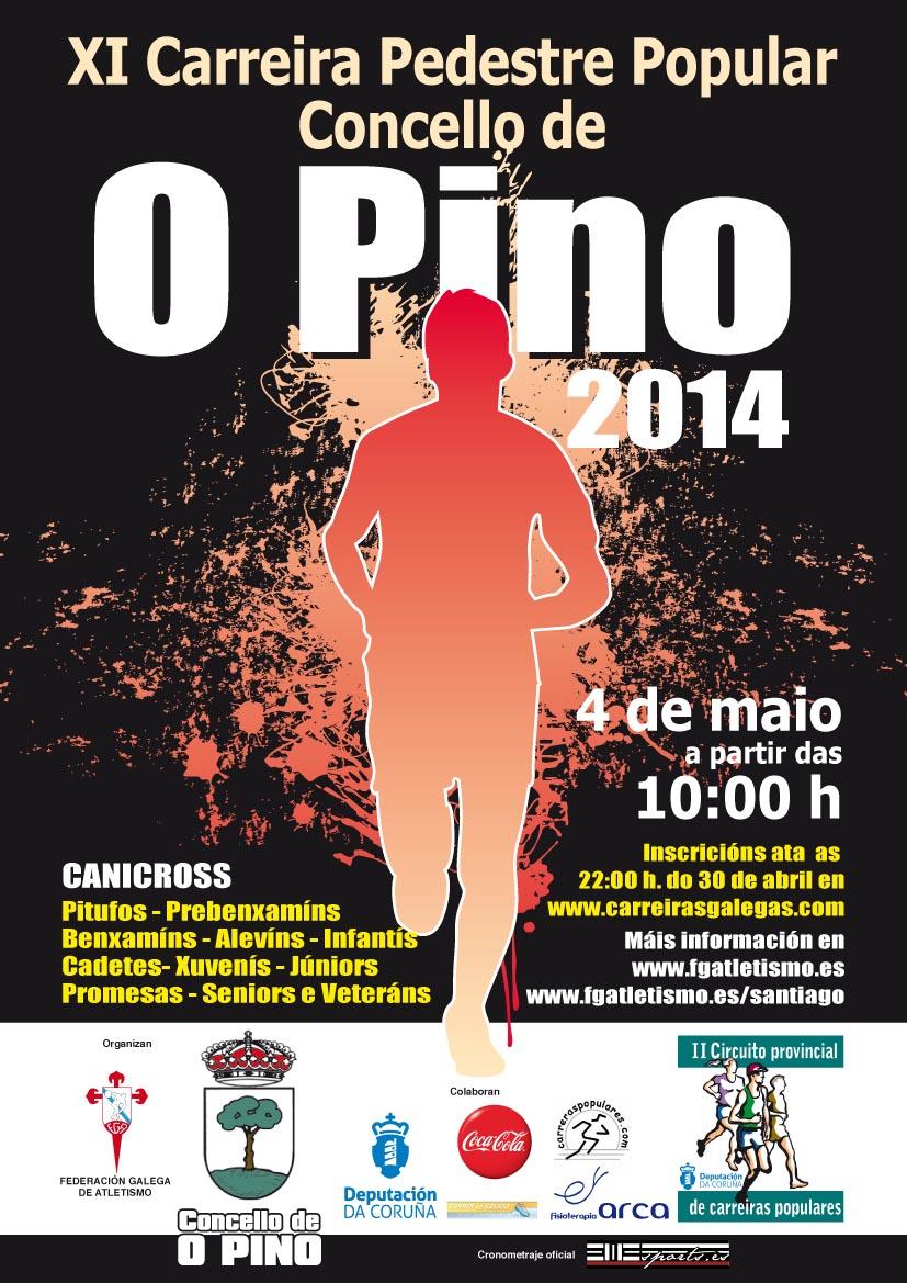 Cartel O Pino 2014